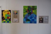 """Recriar a Obra de Arte / A Quinta do Pisani transformou-se numa galeria de arte. Estas são as fotografias das obras expostas, realizadas pelos nossos alunos do 7.º e 8.º ano, com o tema """"Recriar a Obra de Arte""""."""