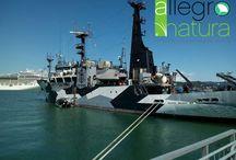 Sea Sheperd /  Allegro Natura è salita a bordo di Sam Simon, una delle navi Sea Shepherd Italia! #seashepherditalia  #AllegroNatura came on board of one of the #SeaShepherd Conservation Society ships (#SeaShepherdGlobal)!
