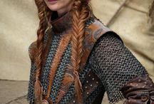 Female warrior, woman's armor