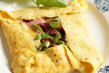 Ham kaas omelet