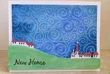 """""""New Home Cards"""" I made"""