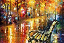 romantic park_doodle