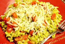 Vegetable Pasta Recipes / by Carol Milligan