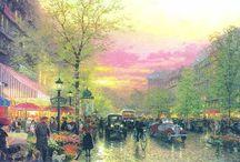 """Париж в картинках / """"Это не город, это целый мир!"""" Карл V  """"Когда Богу на небе скучно, он открывает окно и смотрит на парижские бульвары."""" Генрих Гейне"""