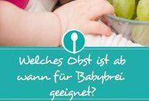 Baby esssen