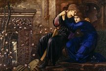 Edward Burne-Jones / I really like the work of Sir Edward Coley Burne-Jones (1833-1898). Burne-Jones worked closely with William Morris (see separate board)