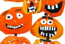 Halloween/pumpkins / by Anne Ostler