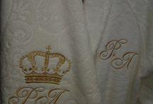 """сделать вышивку на халате / Вышивка автоматизированная (машинная) на халатах от """"Ажур"""" г. Санкт-Петербург"""