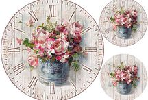 dekopaj saat desenleri