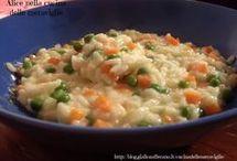 risotto piselli carote stracchino