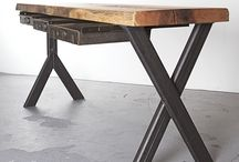 Work Smarter Not Harder / Ergonomic & Beautiful Design Custom desks and inspiring workplaces.