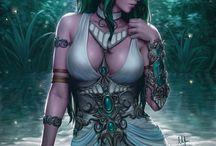 Fantasy (meist erotisch) / schöne Fantasy-Motive