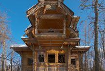 Casas abandonadas / Locais maravilhosos