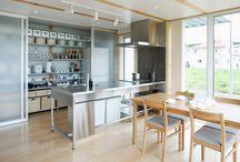 キッチン、ダイニング、その収納のイメージ
