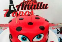 Tarta lady bug