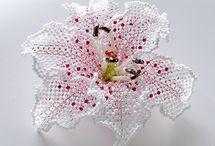 Beads flowers