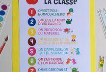 Vie de classe - Affiches
