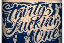 Lettering & Typography / by Priscila Kubo