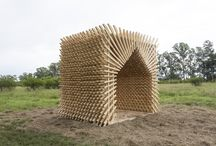 Timber pavilions