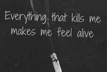 My depression. My feelings. Myself.