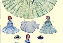 Papír baba és öltözet