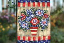 Toland July 4th Flags