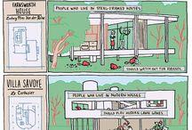 comic architecture