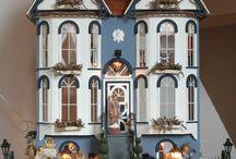 Emmerson Row van Greenleaf / Dit is ook een prachtig poppenhuis dat ik in mijn bezit heb gehad. Poppenhuis  dollhouse