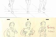 рисовать движение