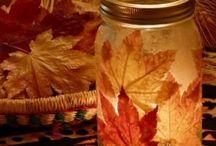 Herfst knutselen stage