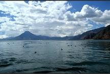 Lago de Atitlan / Lago de Atitlan - velké jezero nedaleko města Guatemala