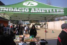 1er Cros Solidari - Escola Vitxeta / El diumenge 8 de març vam col·laborar amb el 1er Cros Solidari de l'Escola la Vitxeta per recollir aliments per la Fundació del Banc dels Aliments