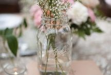 Shabby Chic Wedding Decor / Creative, Simple and effective décor for that Shabby chic look......