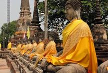 Ayutthaya / La antigua capital de Tailandia: Ayutthaya, destruida por el imperio Birmano.