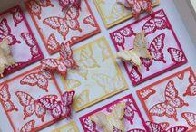 Mijn zelfgemaakte Stampin'up knutsels / Mijn zelfgemaakte Stampin'up knutsels