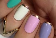 Nails Spring / Spring Nail Designs, Nail Art and Colors For 2016 And 2017. Includes Ideas For Gel And Acrylic Nails, And Shellac.  Try Pastel Colors Like Blue, Pink.  Try Different Shapes For Spring Nails Like Coffin, Almond, Short, Long, And French Tip.  Matte Designs And Glitter Are Hot Right Now.  Try An Ombre For Easter Or Neutral Colors With Flowers.  Step By Step Tutorials And Nail Hacks For Spring That Are Easy And Give You The Natural Classy Nail Look. Try Red, Green, And Blue As Well Like Easter Eggs!