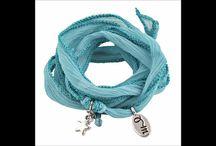Rahki Bracelets / 100% Pure Silk