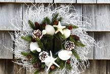 Coastal Woodland Cottage Christmas / My Dream Christmas 2013  Snowy winter, seaside, woodland, cottage Christmas