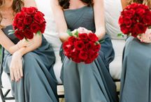 Red & Grey Wedding / by The American Wedding