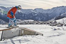 LES2ALPES / Lodowiec Mont de Lans, freeride na La Grave, snowpark z Chillout Zone.