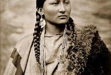 Native female Warrior