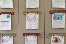 displaying writing ideas