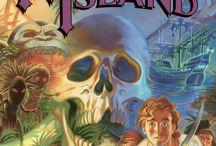 LucasArts games posters