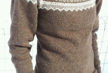 Kofter/strikking/håndarbeid