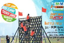 M3M Desi Warrior / M3M Desi Warrior Live the Thrill with M3M Desi Warrior, this 11th of October, 2015 Our Adventure Sports include Cliff Jumping, Rope Climbing, Trench Jumping and Warrior Crawl.  Be there to feel the rush of Adrenaline.