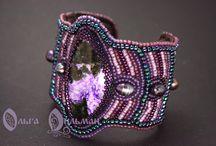 Украшения. Jewelry / Украшения из бисера и натуральных камней.