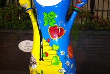 Wenlock & Mandeville Olympic Mascots 2012