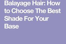 Hair - Balayage - Base color