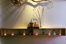 雛飾り / 雛飾りもオシャレに。 空間に合わせた設えを。