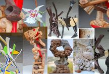 #sculptures d'#alaingirelli / mes publications sur twitter ,google+ et Linkedin